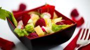 Recette: Salade estivale aux framboises