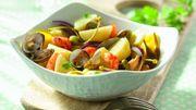 Recette : Salade tiède de pommes de terre entre terre et mer