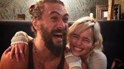 Les retrouvailles attendrissantes entre Emilia Clarke et Jason Momoa (alias Khal Drogo)