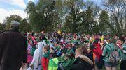 8500 personnes réparties dans le parc