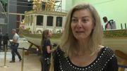 Annie Madet-Vache, responsable du service de la conservation au Musée de la Marine
