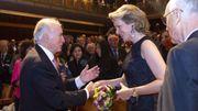 Concours musical Reine Elisabeth - Un hommage et au revoir à Arie Van Lysebeth en présence de la reine Mathilde