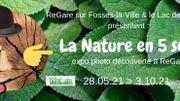 La Nature en 5 sens à ReGare sur Fosses-la-Ville et au Lac de Bambois