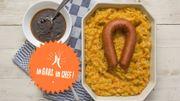 Recette : le stoemp aux carottes, saucisses et oeufs d'Un Gars, un Chef!