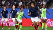 La France bat le Nigeria dans une drôle de rencontre et termine 1ère de son groupe