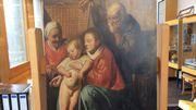 La sainte famille, la découverte d'un tableau de Jacques Jordaens