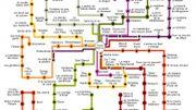 Des conseils lecture pour ados sous forme de cartes de métro