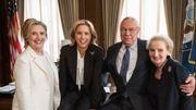 """Hillary Clinton, Colin Powell et Madeleine Albright vont jouer dans la série """"Madam Secretary"""""""