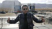 Jean-Michel Jarre célèbre la mer Morte malgré une tempête de sable
