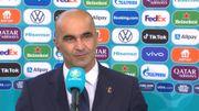 """Danemark-Belgique: Roberto Martinez """"cela faisait longtemps qu'on n'avait pas vécu un vrai test comme celui-là"""""""