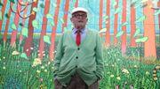 David Hockney donne une oeuvre monumentale au Centre Pompidou