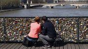 """Les """"cadenas d'amour"""" de Paris aux enchères le 13 mai"""