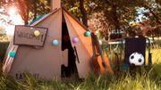 Cet été en festival, on va dormir sous une tente... en carton !