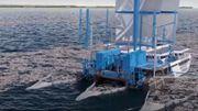 Jusqu'à 10.000 tonnes de déchets plastiques seront récoltés dans les océans par le catamaran «Manta»