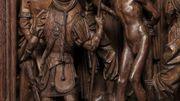 scène de décapitation du retable de Saint Georges