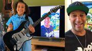 Nandi Bushell, 10 ans, reçoit une guitare de Tom Morello