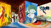 L'oeuvre de Chagall revue en version multimédia