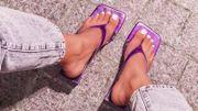 Les tongs à talons, parmi les chaussures stars de l'été 2020