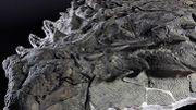 Le nodosaure exposé au musée Royal Tyrrell.
