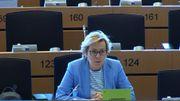 La MEP polonaise Jadwiga Wiśniewska s'est exprimée vers 9h36 jeudi 25 juin dans l'une des salles de réunion du Parlement européen
