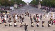 Regardez l'incroyable medley Daft Punk au défilé du 14 juillet