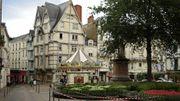 Déambulation à travers les temps, à Angers