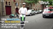 À Paris, des trottinettes électriques bientôt disponibles en libre-service partout dans la capitale