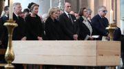 La famille Royale de Belgique aux obsèques de Godfried Danneels.