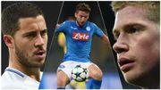 Aucun point pour Mertens au Ballon d'Or, De Bruyne et Hazard délaissés