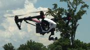 Des drones pour livrer des médicaments et du sang