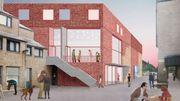 La nouvelle entrée du théâtre sera tournée vers la ville, sur la place Rabelais.