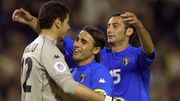 Toldo, Cannavaro et Iuliano, c'est le moment des câlins