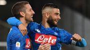 Auteur d'un triplé et d'un assist, Mertens dépasse Oliveira et conduit Naples à la victoire