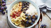 Recette: Bowl vitaminé des vendanges