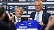 """Ranieri veut """"sauver"""" la Sampdoria, dernière de Serie A"""