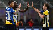 Romelu Lukaku, un but et un assist face à la Roma, soigne ses statistiques en Serie A avec l'Inter