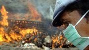 Des millions de masques FFP2 et FFP3 sont distribués à travers l'Asie du sud-est pour se protéger du virus.
