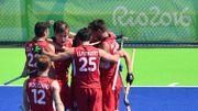 Les Red Lions remontent l'Inde et filent en demi-finales
