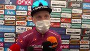 """Giro : Tim Merlier """"très heureux et très fier"""" de sa première victoire en Grand Tour"""