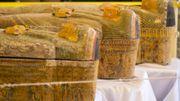 A Louxor, rare découverte de 30 sarcophages trois fois millénaires