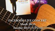 Jacques Stotzem en concert gratuit chaque mardi à 20h15 sur sa page Facebook