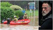 """Inondations: Bouli Lanners loue l'entraide entre pompiers et bénévoles: """"C'était humainement très fort"""""""