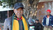 """""""Les Blancs ont pris nos terres et nous sommes devenus des locataires"""", résume Sakhile Mlhope."""