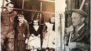 Jozef, arrivé en 1942, accompagné de son fils Joseph et de ses filles au moulin