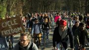 Cycle for Freedom : les jeunes Belges n'en peuvent plus des restrictions et veulent être entendus
