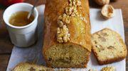 Recette : Cake sans gluten aux noix