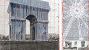 L'Arc de Triomphe à Paris va être emballé par Christo en 2020