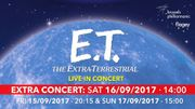 """""""E.T. the Extra-Terrestrial Live in concert"""" à Flagey"""