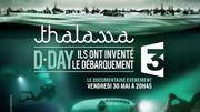 """""""Thalassa"""" reconstitue en 3D le Débarquement de Normandie"""
