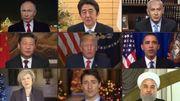 """[Zapping 21] Quand les dirigeants du monde chantent """"Imagine"""""""